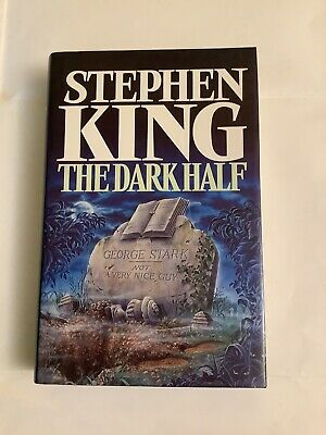 £5 • Buy The Dark Half By Stephen King, 1st Edition, 1989, Guild Publishing