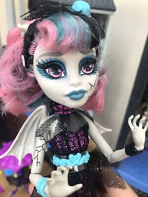 £15 • Buy Monster High 💜 Rochelle Goyle Zombie Shake Doll Rare, Stand Not Included