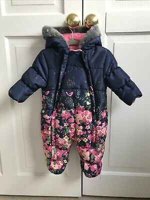 £5 • Buy Mothercare Baby Snowsuit Pramsuit 0-3 Months