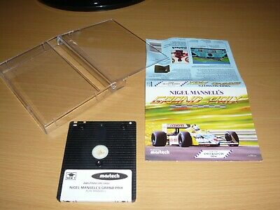 £5.99 • Buy ***amstrad Cpc 464/664/6128 Disk Game Nigel Mansell's Grand Prix By Martech***