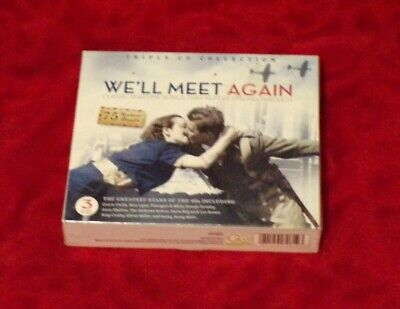 £0.99 • Buy We'll Meet Again: 75 Wartime Classics (Triple CD Collection, Sealed)