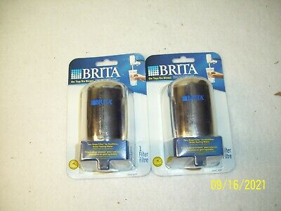 £14.55 • Buy Brita Tap Water Faucet Filter Replacement, 2 Count Chrome Fits Model FF100