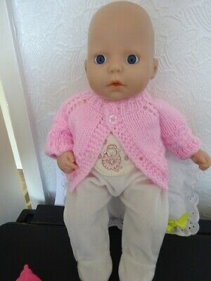 £16 • Buy Baby Annabell Doll 14in Original Sleep Suit Comes With Pink Cardigan Bottle And