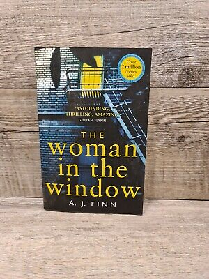 AU17 • Buy The Woman In The Window By Finn A. J.  Suspense, Psychological Thriller PB Book
