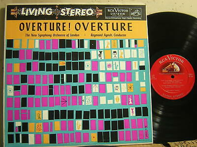 £4.75 • Buy Rca Lsc 2134 Overture! Overture Agoult Silver Sd 4s 1s 1958 Vg++ To Nm