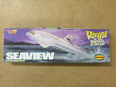 £20 • Buy Seaview 1:350 Scale Model By Moebius MOE808 Voyage To The Bottom Of The Sea
