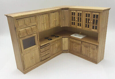 £10 • Buy Dolls House Kitchen Cabinets