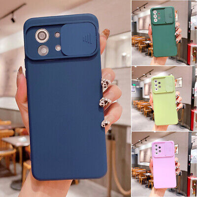 AU10.99 • Buy For OPPO A54 A74 A73 A93 A15 Realme8 7 Silicone Case Slide Lens Shockproof Cover