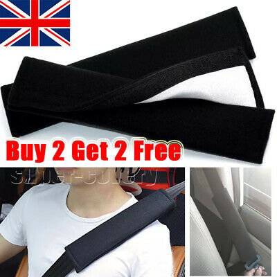 £2.86 • Buy Car Seat Belt Cover Pads Car Safety Cushion Strap Covers Pad For Adults Kids UK