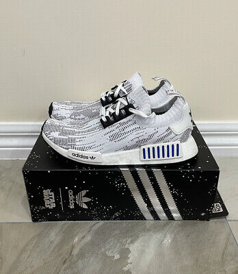 AU139.99 • Buy Adidas NMD R1 Glitch Stormtrooper Shoes NEW Men's Size US8 Boost Star Wars