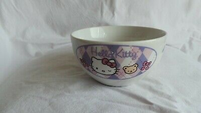 £5.95 • Buy Vintage Ceramic Sanrio Hello Kitty Bowl Official Licensed Product Immaculate