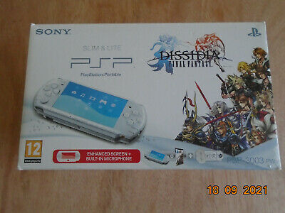 £200 • Buy SONY PSP Slim & Lite Portable With Dissidia Final Fantasy Pack PSP-3003 PW