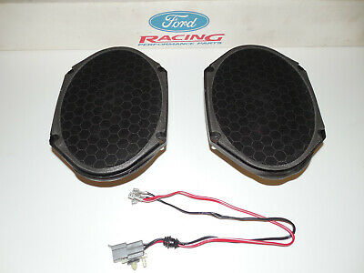 £40.01 • Buy 94-98 / 99-04 Ford Mustang Gt Mach 460 Sound System 6x8 Rear Speakers Set 2 Oem