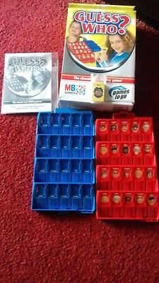 £6 • Buy Mb Games To Go (travel) Games Guess Who Game