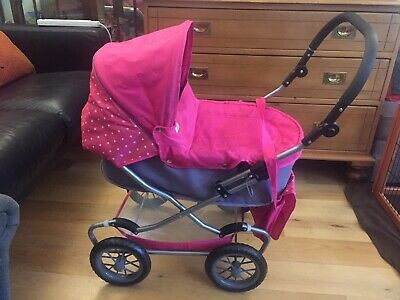£19.99 • Buy Mamas And Papas Dolly Toy Pram. With Bag And Parasol. Great Condition.
