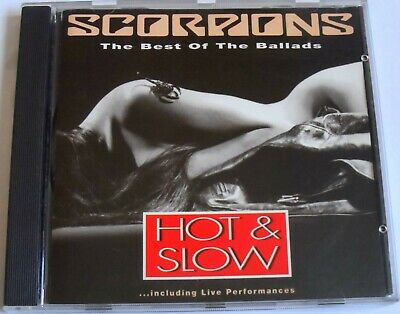 £6.99 • Buy Scorpions - Hot & Slow The Best Of The Ballads (1991 CD OF EARLY SONGS) VGC