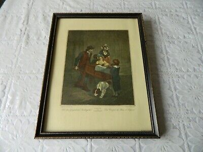 £9.99 • Buy Vintage Framed Print Of Cries Of London By F. Wheatley - Hot Spice Gingerbread 2