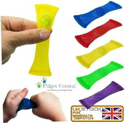 £1.45 • Buy Mesh & Marble Fidget Toy Stress Anxiety Relief Kids Soothing Sensory School UK