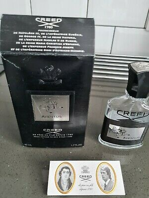 £10 • Buy Creed Aventus 50ml Empty Bottle, Box And Authenticity Certificate