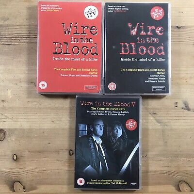£9.95 • Buy Wire In The Blood Series 1-5 ( 1, 2, 3, 4 & 5)
