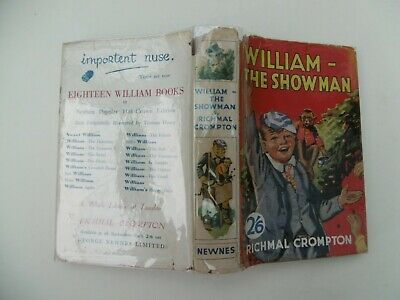 £35 • Buy 'William The Showman' By Richmal Crompton'
