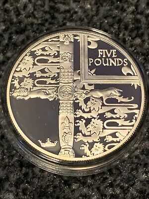 £11.61 • Buy 2002 QEII Five Pound .925 Silver Coin