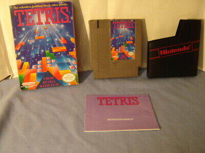£21.93 • Buy Sellers Collection 1989 Tetris Nintendo NES Game With Box Sleeve & Instructions