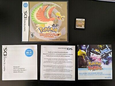 $92 • Buy Authentic Pokemon HeartGold Nintendo DS, Tested, Includes Case, No Manual