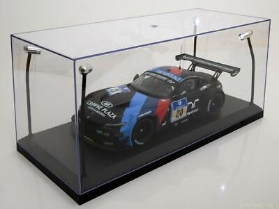 £29.99 • Buy Display Show Case Clear Plastic 4x Leds 1:18 Scale Great For Model Displays Bnib