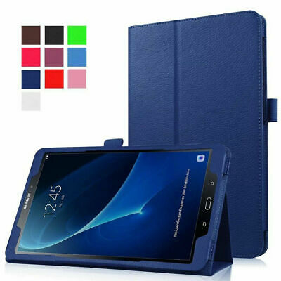 AU18.33 • Buy For Samsung Tab A 8.0 SM-T350/T355Y Leather Flip Smart Case Tablet Cover Stand