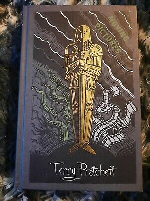 £249 • Buy Terry Pratchett SIGNED Hardback Moving Pictures 1st 1st Collectors Edition