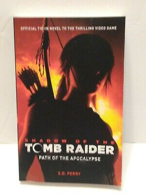 AU8.28 • Buy Shadow Of The Tomb Raider - Path Of The Apocalypse By S. D. Perry 2018 Trade. PB