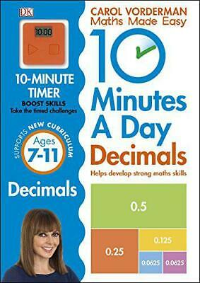 £5.90 • Buy 10 Minutes A Day Decimals By Vorderman, Carol, NEW Book, FREE & FAST Delivery, (