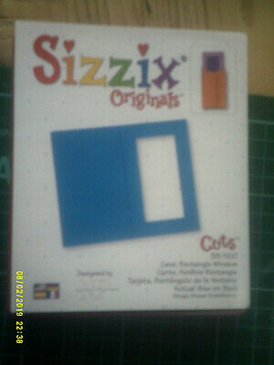 £7.99 • Buy Sizzix Originals * Rectangle Window * Photo Id * Cuts Creases Folds * Die Cutter