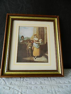 £4.99 • Buy Vintage Framed  Cries Of London  Print Picture 2