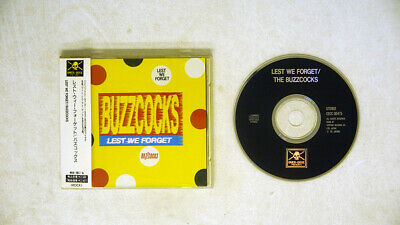 £2.90 • Buy Buzzcocks Lest We Forget Over-dose Japan Obi 1cd