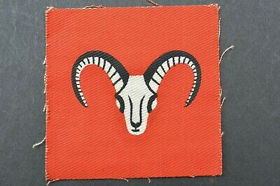 £14.99 • Buy WW2 Era ~ 1st Army Group Royal Artillery Formation Sign / Patch ~ Printed Type