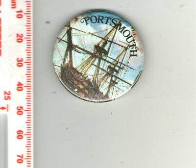 £1.62 • Buy Pin Badge - PORTSMOUTH - HMS Victory