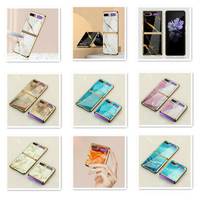 AU27.39 • Buy For Samsung Galaxy Z Flip 3 5G Luxury Floral Plating Painting Folding Case Cover