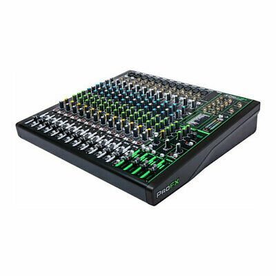 £421.92 • Buy Mackie - 'ProFX16v3' 16-Channel Effects Mixer With USB, Onyx Mic Preamps, 24 FX,