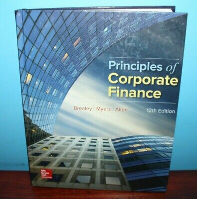 £21.82 • Buy Principles Of Corporate Finance By Stewart C. Myers, Richard A. Brealey And Fran