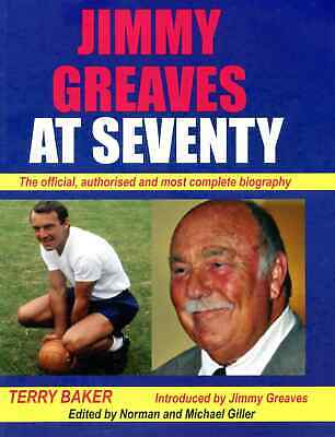 £8.99 • Buy Jimmy Greaves At Seventy - Greavsie Authorised Biography - Football Book