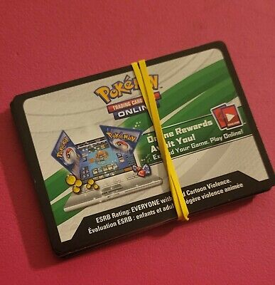 $0.99 • Buy Pokemon TCG Online Code Card Lot Of 25 UNUSED Codes From Various Sets