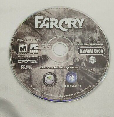 AU5.33 • Buy Far Cry 1 Ubisoft PC Game CD ROM 2004 Play Install Disc 5 Only
