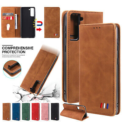 AU15.95 • Buy Magnetic Leather Wallet Case For IPhone 13 11 12 Pro Max XS XR 8 7 6S Flip Cover