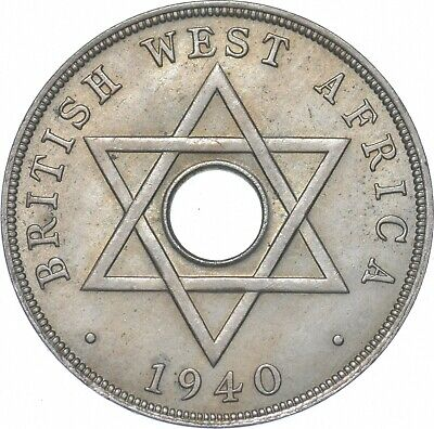 £1.16 • Buy Better - 1940 British West Africa 1 Penny - TC *204