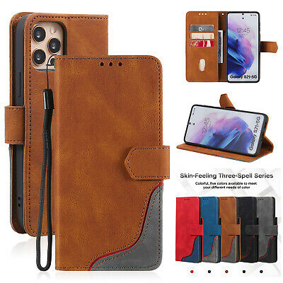 AU6.99 • Buy For IPhone 12 11 Pro Max XS X XR 8 7 6 SE Magnetic Flip Leather Wallet Card Case