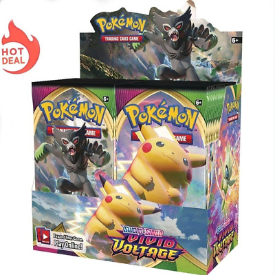 $12.50 • Buy Pokemon TCG Sword & Shield Vivid Voltage Booster Box 36 Pack New 2021 Gift Toy