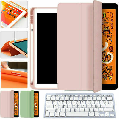 AU38.46 • Buy Wireless Keyboard Leather Cover Case Shell Pen Slot For IPad Pro/air 10.5 2019