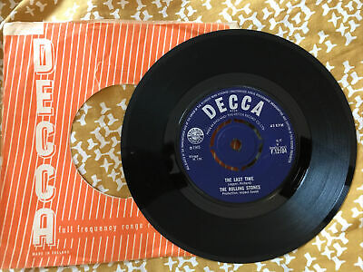 £1.99 • Buy The Rolling Stones The Last Time / Play With Fire Vg+ 1965 Single On Decca